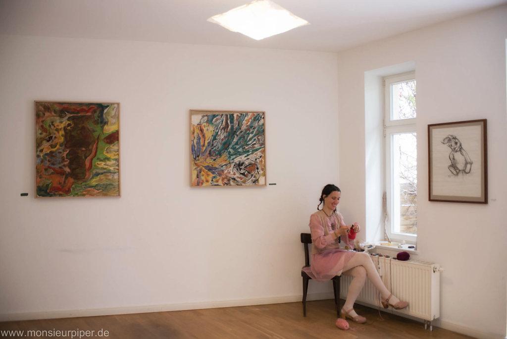 Büffelkopf and Artist